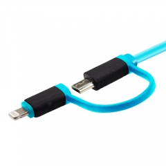 Dual Injected Flat Lightning Cable