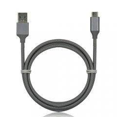 USB-C 3.1 to USB 3.0 Data Sync Charge Braided Cable