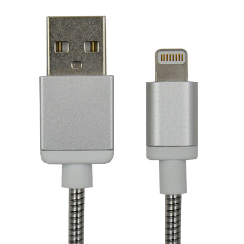 Metal Braided MFi Lightning Charging Cable