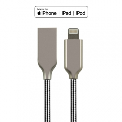 Stronger Zinc-Alloy Lightning to USB Charge and Charge Cable