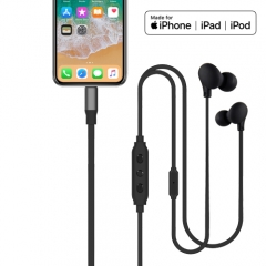 Digital Lightning Earphone for iOS device