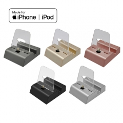 MFi iPhone Docking Station with 3.5mm Audio Jack